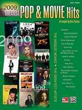 2009 Greatest Pop & Movie Hits: Piano Solo Sheet Music / Songbook