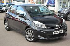 2014 Toyota Yaris VVT-I ICON PLUS Petrol black Manual