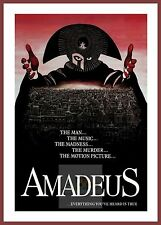 Amadeus inspirante et uplifting movie posters vintage films