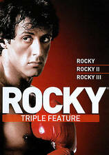 Rocky Collection 1-3 (I II III) (DVD, 2011, 3-Disc Set) Sylvester Stallone