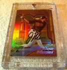 JOE MAUER 2002 BOWMAN'S BEST #110 GOLD REFRACTOR AUTO RC ROOKIE ONLY 50 PRODUCED