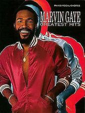 Greatest Hits: Piano, Vocal, Guitar Sheet Music / Songbook: Marvin Gaye