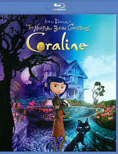 Coraline 3D + 2D Blu-ray/DVD, 2011, 2-Disc Set