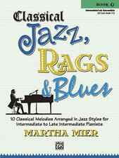 Classical Jazz Rags & Blues, Book 3: Piano Solo Sheet Music / Songbook