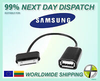 USB OTG Connector Host Cable Adapter for Samsung Galaxy Tab Tab 2 7.7 8.9 10.1