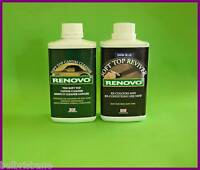 RENOVO CANVAS,SOFT TOP,CLEANER & BLUE REVIVER, 2x500ml.