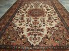 GULEAINA FLOWRAL HAND KNOTTED RUG WOOL SILK CARPET 6X4