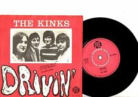 KINKS 7'' PS Drivin' Denmark PYE 7N 1776 NICE CONDITION very rare Danish 45!!