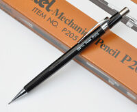 VINTAGE PENTEL P205 BLACK 0.5MM OLD TYPE DRAFTING MECHANICAL PENCIL 1970S