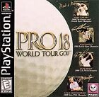 Pro 18 World Tour Golf PS1 Great Condition