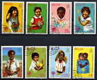 BELIZE 1980 YEAR OF THE CHILD COMPLETE SET OF 8 STAMPS!