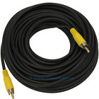 15M COMPOSITE RCA PHONO CABLE PC TO LCD TV DIGITAL AUDIO MALE PLUG VIDEO LEAD