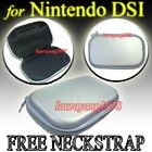 SILVER EVA HARD CASE COVER for NINTENDO DSi NDSi NDS i