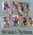 1994 MASTERS R/L CARD #88 BRAD FITTLER - PENRITH