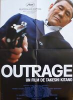 OUTRAGE - KITANO - ORIGINAL SMALL FRENCH MOVIE POSTER