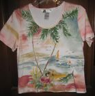Napa Valley Petite Cotton Top Beach Cruise Size PS NOW ON SALE