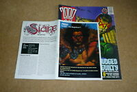 2000 AD Comic - PROG 724 - Date 30/03/1991 - With free gift