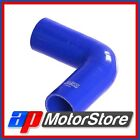 Blue Silicone Hose Elbow 90 Degree 76Mm