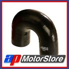 Black Silicone Elbow 180 Degree Bend Hose 16Mm