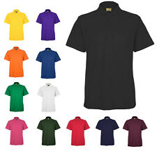 Mens Active Pique Polo T Shirts By MIG -  WORK CASUAL SPORTS LEISURE / MIG 105