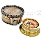 Brass Ship Pocket Sundial Timer Compass - The Mary Rose - London