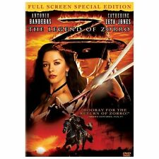 THE LEGEND OF ZORRO DVD Full Screen FS Antonio Banderas Catherine Zeta-Jones NEW