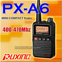 PUXING PX-A6 UHF 400-470Mhz Small Radio+earpiece
