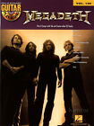 Megadeth Guitar Play-Along Volume 129 TAB Book with Playalong CD Jam Play Solo