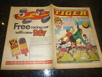 TIGER & JAG Comic - Date 23/05/1970 - Inc Roy of thr Rovers (Melchester)