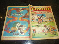 TIGER & JAG Comic - Date 15/08/1970 - Inc Roy of thr Rovers (Melchester)