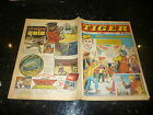 TIGER & JAG Comic - Date 24/10/1970 - Inc Roy of thr Rovers (Melchester)