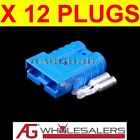 12 x BLUE ANDERSON STYLE 50 AMP PLUG CONNECTORS JOINER 12V DUAL BATTERY 50a