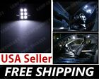 White LED Interior Dome Map Light Festoon Bulb DE3175 DE3021 DE3022 DE 3175 31mm