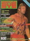 Paul Orndorff Signed 1987 Wrestling Eye Magazine PSA/DNA COA Auto'd WWE WCW WWF