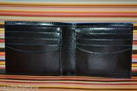 Paul Smith PS BLACK DECO Calf Leather Wallet Brand New