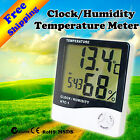 Hydroponics Grow Light Tent Room HTC-1 Temperature Humidity Meter Clock & Alarm