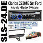 CLARION Radio CZ301E Ford Escort Mondeo Fiesta Blende ISO Adapter Bluetooth FSE