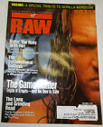 WWF WWE Raw Wrestling Magazine Tori Wilson, Triple H December 1999 090312R