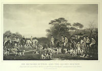 FOXHOUND FOX HUNTING HORSE SIR RICHARD SUTTON QUORN HOUNDS DOG ART PRINT (Large)