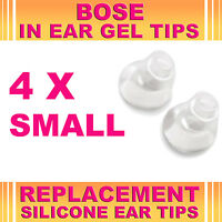 4x Silicone Replacement Small Gel Tips for Bose Triport Buds Earphone Headphone