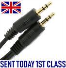 Extra SHORT 10cm to 30cm Long Cable GOLD stereo 3.5mm Male Jack Plug Iphone Mp3
