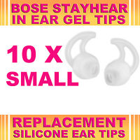 10x Silicone Replacement Small Ear Gel Tips for Bose StayHear Earphone Headphone
