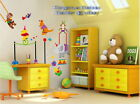 Animal Circus Removable Nursery Decal Wall Stickers Decor 70cm*50cm