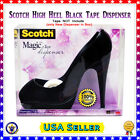 Black Scotch 3M Stiletto High Heel Shoe Scotch Magic Tape Dispenser NEW
