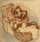 "NEW 14"" BEATRIX POTTER MRS TIGGY-WINKLE TAPESTRY CUSHION COVER 1001"