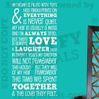 Home Love Laughter Together In This House Quote Vinyl Wall Decal Decor Sticker