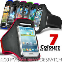 SPORTS ARMBAND STRAP POUCH CASE COVER FOR VARIOUS SONY MOBILE PHONES