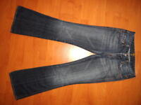 7 SEVEN FOR ALL MANKIND A-POCKET FLARE JEANS 26 x 31