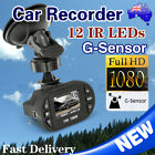 Full HD 1080P Dash DVR Car Video Camera Evidence IR Recorder Road Crash Vehicle