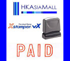 Xstamper VX { PAID } Pre-Inked Self-Inking Red Ink Rubber Stamp (1005) NEW